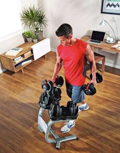 manubri bowflex per allenarsi a casa